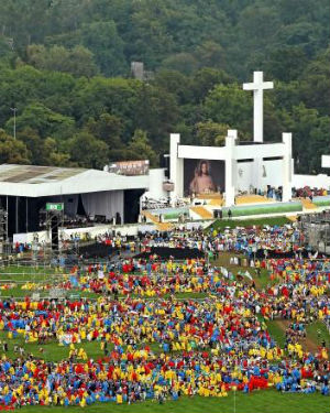 'We are all God's children': Cardinal urges WYD pilgrims to ensure the Gospel of Jesus reaches the world