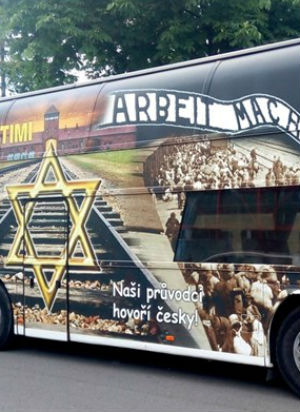 Shocking ad for Auschwitz death camp tours shunned by victims' families and Jewish leaders