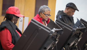 Perfect U.S. Presidential Election Stealing Software turns Black vote into non-persons