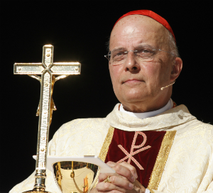 Cardinal George explains how gay marriage is like Sharia Law
