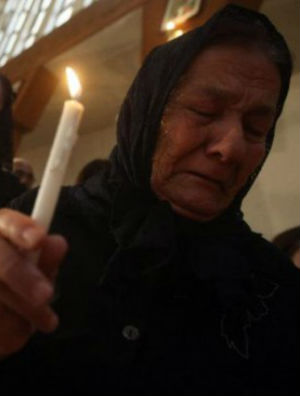 Carmelites refuse to leave - Only 40,000 Christians left in Aleppo amid continuous airstrikes