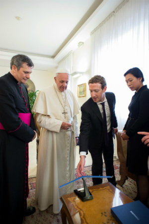 Zuckerberg meets Pope Francis, what happens if they form an alliance?