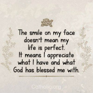 Your Daily Inspirational Meme: Appreciate what God has blessed me with