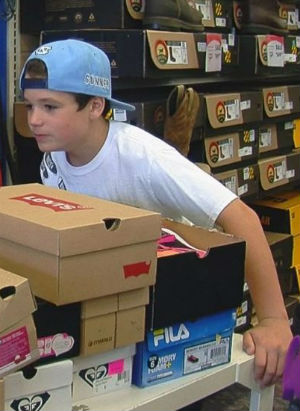 'Gunners Runners': 10-year-old boy donates nearly 600 pairs of shoes to needy kids