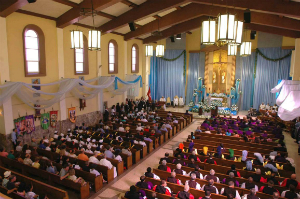 Marian procession to commemorate birthday of Los Angeles