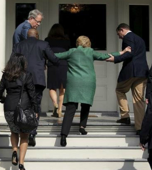 Image result for hillary clinton brain tumor