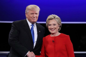Clinton and Trump clash in first debate - and a BIG prediction is made