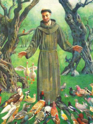 How will St. Francis of Assisi challenge you today?