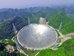 China to switch on world's largest radio telescope in search for aliens