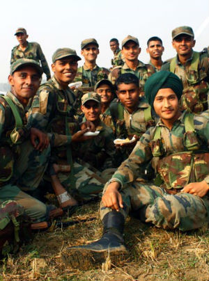 India has one of the biggest armies, but doesn't use it -- Why?