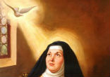 Image of St. Teresa of Avila's feast day is October 15.