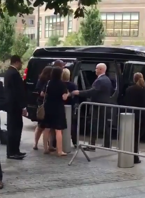 Clinton passes out and loses shoe at 9/11 memorial ceremony