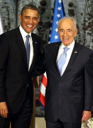 US President makes touching tribute to Nobel Peace Prize winner Shimon Peres