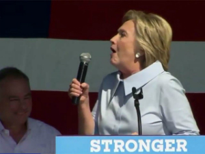 Coughing fit reveals painful fact about Hillary Clinton