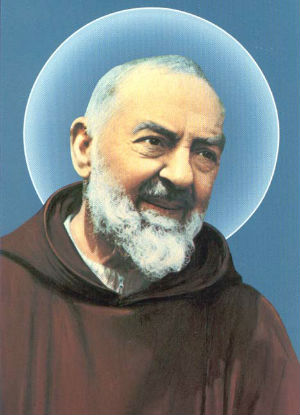 Major relic of St. Padre Pio in the United States
