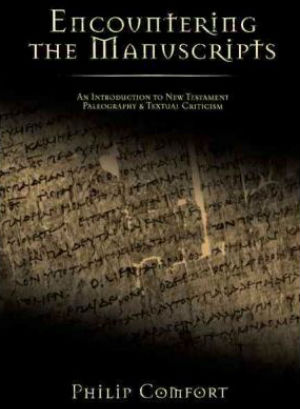 Book Review: Encountering The Manuscripts