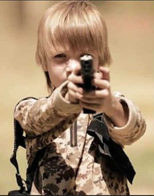 Angelic, blonde child featured as child executioner in terrifying new ISIS video (WARNING: DISTURBING CONTENT)