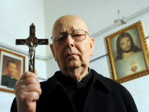 Father Gabriele Amorth is a trained exorcist.