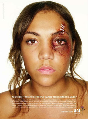 October is Domestic Violence Awareness Month - So talk about it