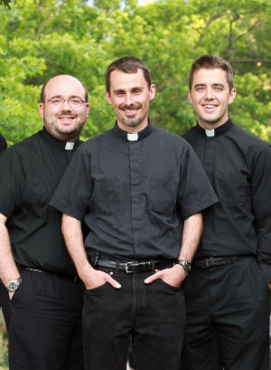 'I hope to help satiate Christ's thirst...' Help seminarians and aspirants pursue their vocations