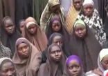 Image of Twenty-one Chibok schoolgirls were released from Boko Haram.