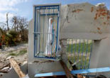 Image of Mother Mary was preserved though Hurricane Matthew tore through Haiti.