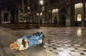 Man attacks churches in Rome, desecrates statues in two day spree