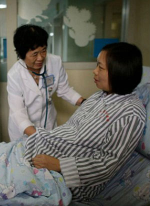 Doctors perform surgery on 28-week-old BABY STILL IN THE WOMB!