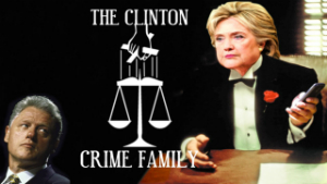 CLINTON SYNDICATE - The Clinton's are a Crime Family