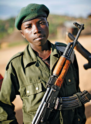 Sudanese archbishop asks for help to end child soldiers
