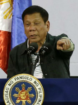 Philippines President threatens to 'break up' with U.S.