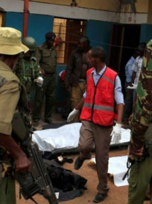 Somalia's al-Shebab rebels killed Christians in Kenya.