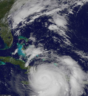 Matthew becomes Category 5 monster, turns towards US