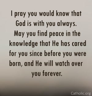 Your Daily Inspirational Meme: God Is With You