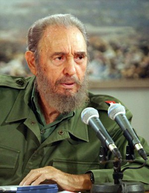Final gift to a dying man - Dictator Fidel Castro receives gift 10 days before death