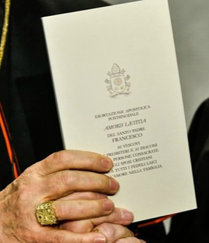Four Cardinals write to Pope Francis concerning the 'Amoris Laetitia.'