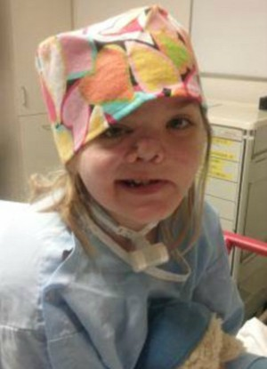 Girl's face sliced in half - Dies and goes to Heaven but RETURNS TO LIFE