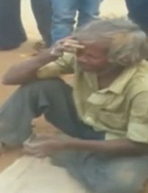 Unable to move or bury wife, heartbroken leper attempts to carry body 90-miles home