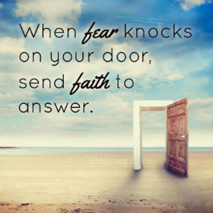 Your Daily Inspirational Meme: Let Faith Answer...