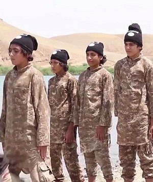 Divine justice or horrible tragedy? ISIS Cub of the Caliphate accidentally kills his family when suicide vest detonates