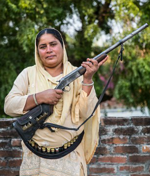 'Aunt with a gun' disperses justice for women in rural India