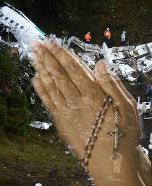 Special prayers dedicated for victims of the tragic Colombia plane crash