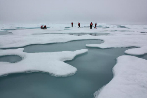 It's dark and cold at the North Pole, so why is it MELTING?