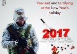 Image of ISIS threatens Christmas and New Year attacks.