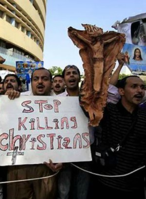 CHRISTIANS ATTACKED - Extremists destroy buildings and send Christians to hospital in Egypt