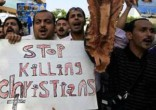 Image of Christians continue the fight for rights in Egypt.