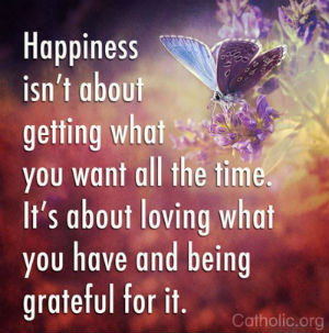 Your Daily Inspirational Meme: Love What You Have and Be Grateful For It