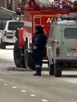 Shocking surprise for Russian bomb squad - Suspicious boxes reported at bus stop