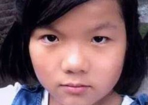 Image of Fourteen-year-old Guo Jiajia attempted to save her disabled father from a house fire (Huanqiu).