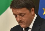 Image of Matteo Renzi's political career is over.